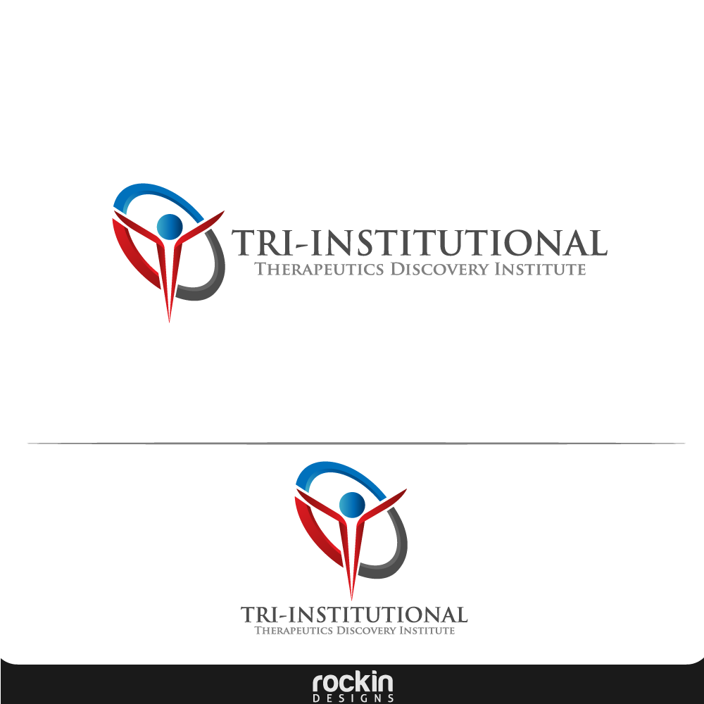 Logo Design by rockin - Entry No. 183 in the Logo Design Contest Inspiring Logo Design for Tri-Institutional Therapeutics Discovery Institute.