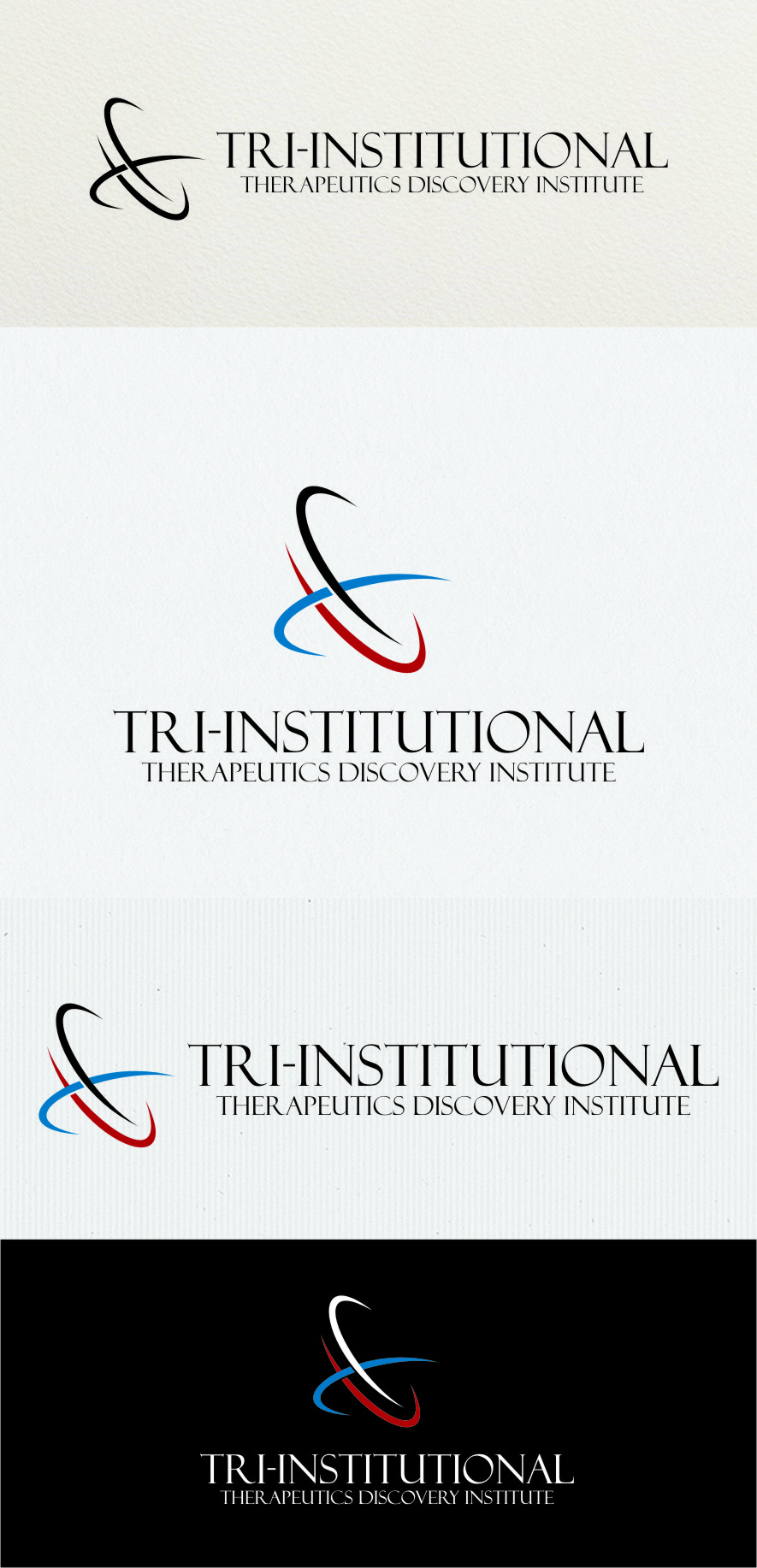 Logo Design by RasYa Muhammad Athaya - Entry No. 185 in the Logo Design Contest Inspiring Logo Design for Tri-Institutional Therapeutics Discovery Institute.