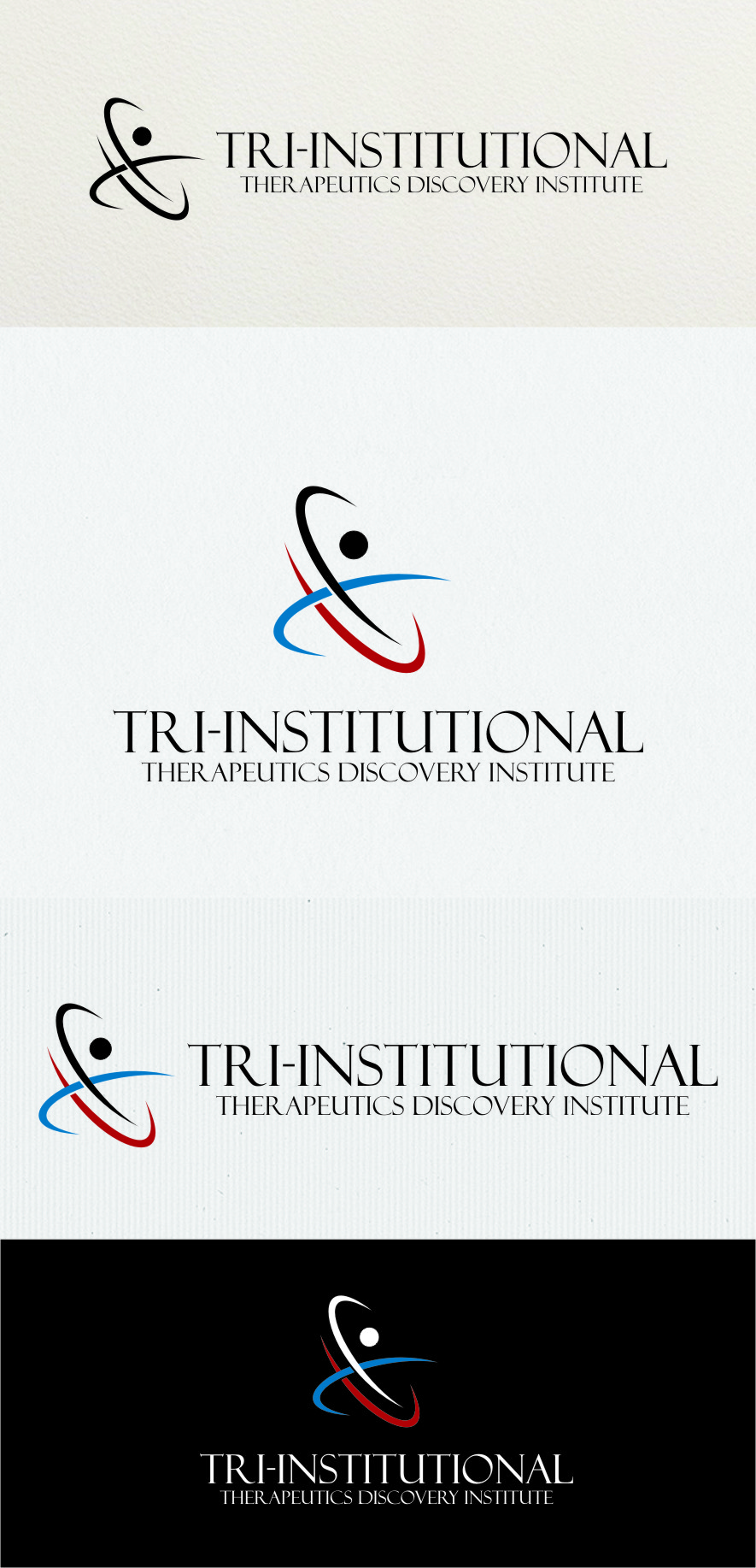 Logo Design by RoSyid Rono-Rene On Java - Entry No. 186 in the Logo Design Contest Inspiring Logo Design for Tri-Institutional Therapeutics Discovery Institute.