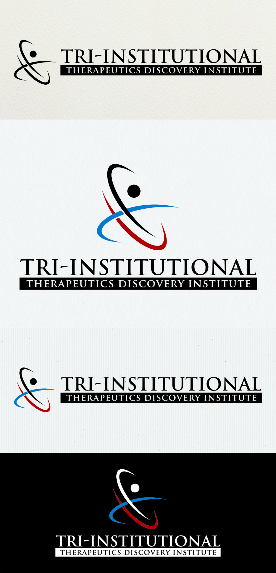 Logo Design by RasYa Muhammad Athaya - Entry No. 187 in the Logo Design Contest Inspiring Logo Design for Tri-Institutional Therapeutics Discovery Institute.