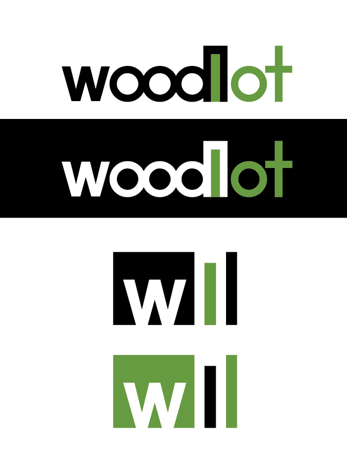 Logo Design by Christina Evans - Entry No. 50 in the Logo Design Contest Fun Logo Design for woodlot.