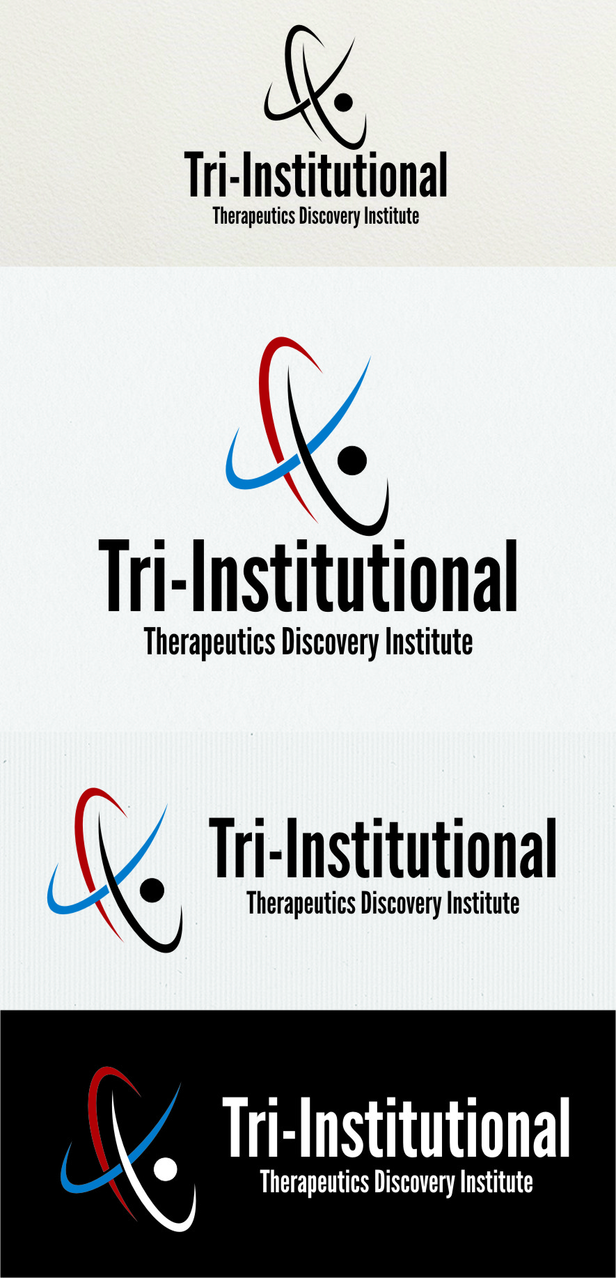 Logo Design by RasYa Muhammad Athaya - Entry No. 199 in the Logo Design Contest Inspiring Logo Design for Tri-Institutional Therapeutics Discovery Institute.