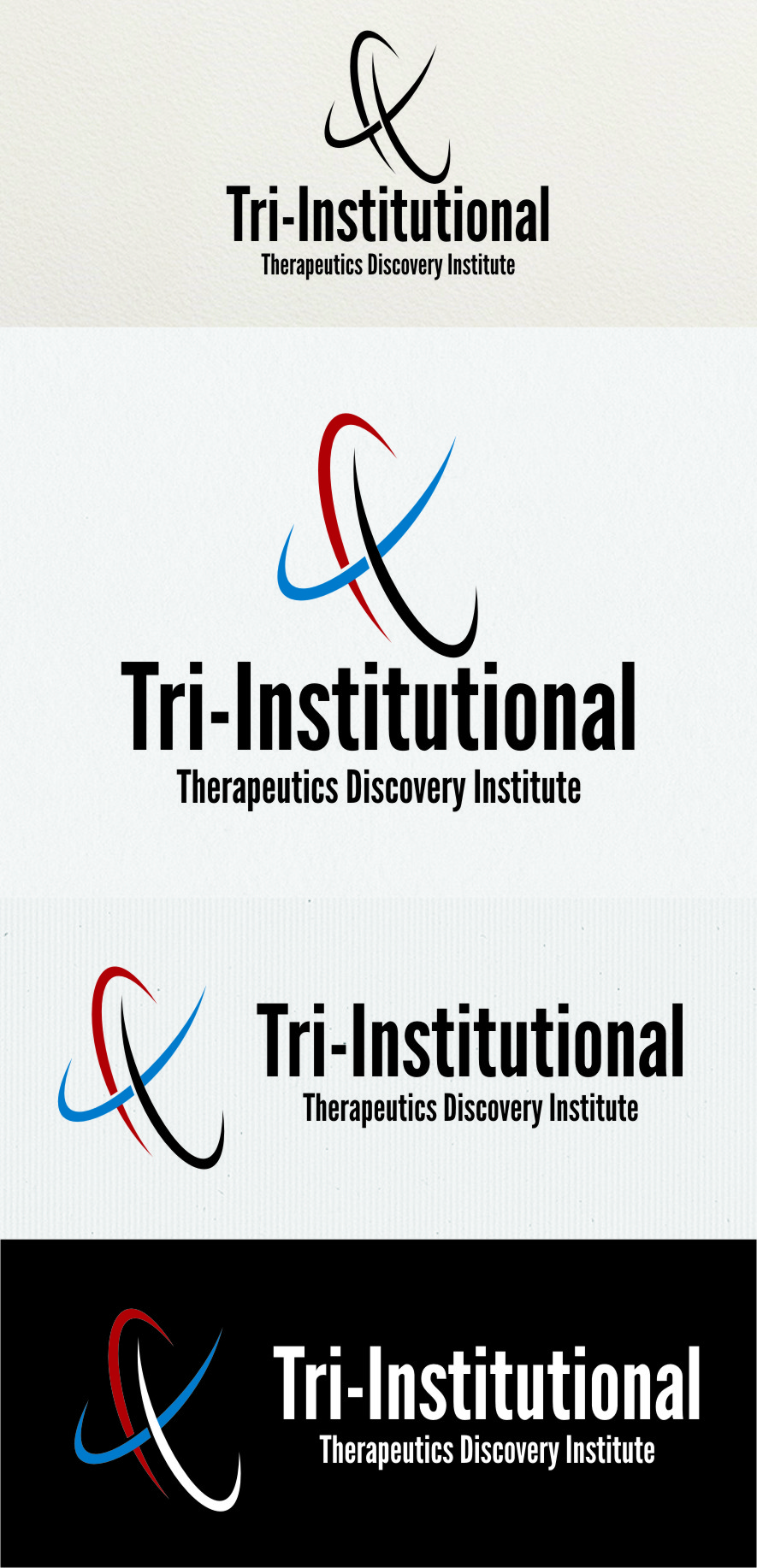 Logo Design by RasYa Muhammad Athaya - Entry No. 200 in the Logo Design Contest Inspiring Logo Design for Tri-Institutional Therapeutics Discovery Institute.