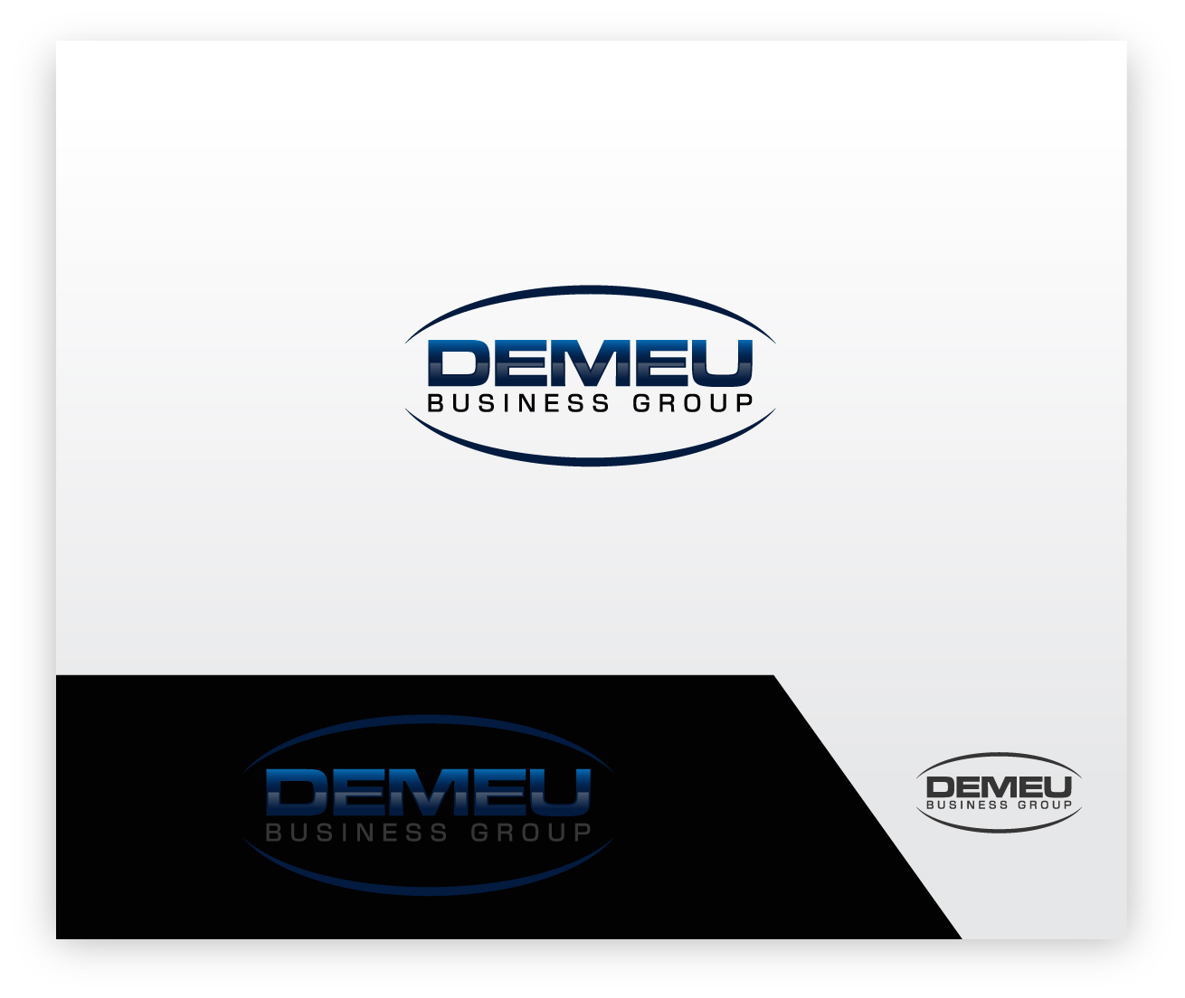 Logo Design by zoiDesign - Entry No. 140 in the Logo Design Contest Captivating Logo Design for DEMEU Business Group.