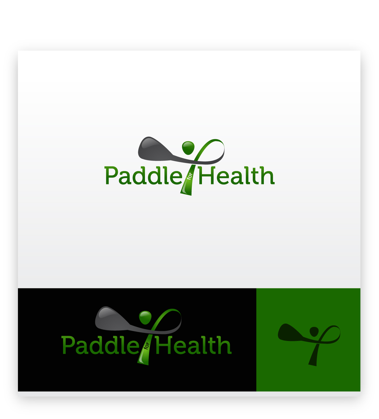Logo Design by zoiDesign - Entry No. 33 in the Logo Design Contest Creative Logo Design for Paddle for Health.