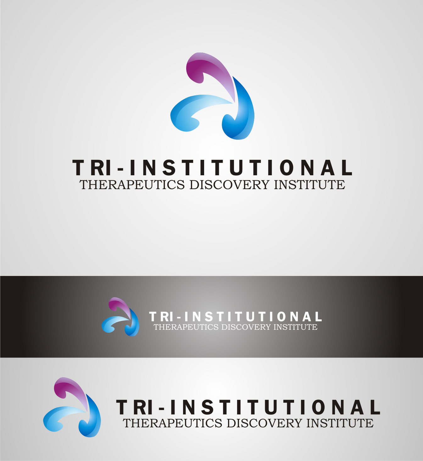 Logo Design by Nthus Nthis - Entry No. 203 in the Logo Design Contest Inspiring Logo Design for Tri-Institutional Therapeutics Discovery Institute.