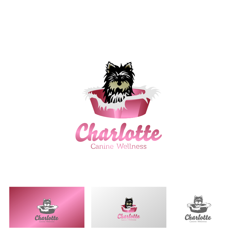 Logo Design by graphicleaf - Entry No. 49 in the Logo Design Contest New Logo Design for Charlotte Canine Wellness.
