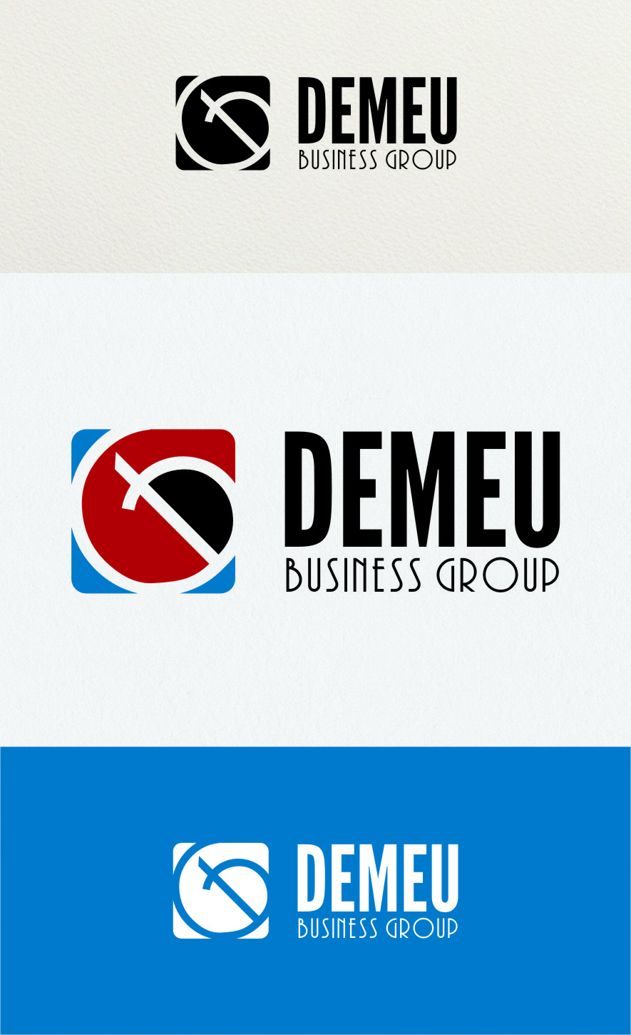Logo Design by RoSyid Rono-Rene On Java - Entry No. 142 in the Logo Design Contest Captivating Logo Design for DEMEU Business Group.