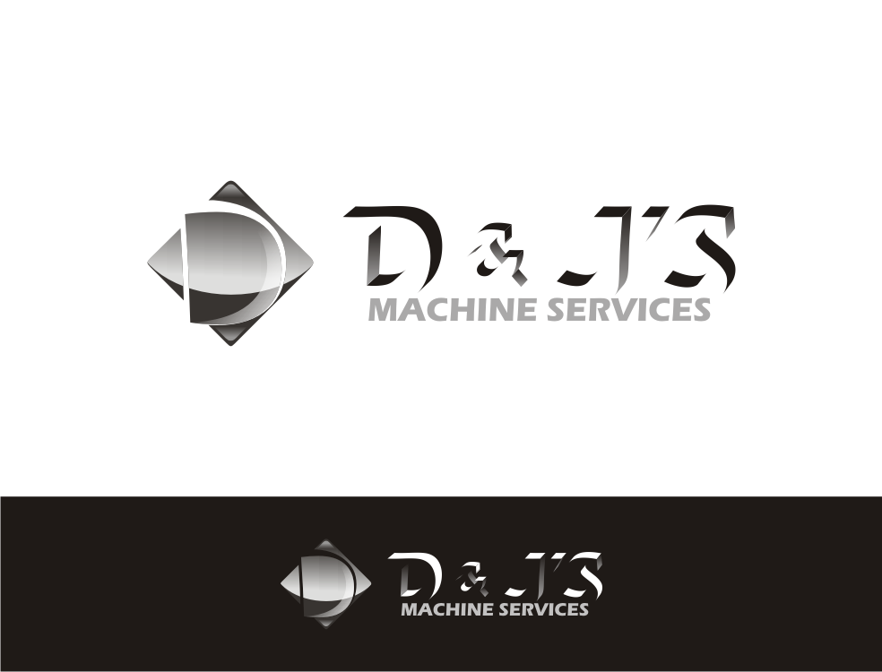 Logo Design by Nthus Nthis - Entry No. 2 in the Logo Design Contest Creative Logo Design for D & J's Precision Machine Services.