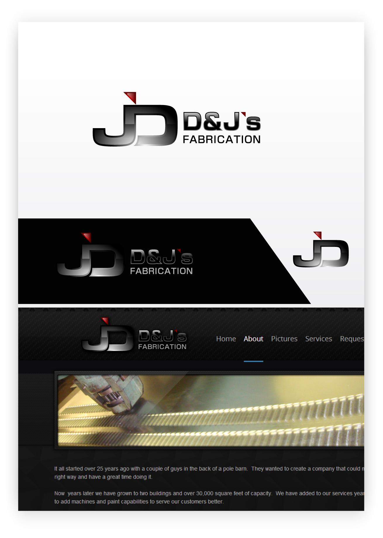 Logo Design by zoiDesign - Entry No. 4 in the Logo Design Contest Creative Logo Design for D & J's Precision Machine Services.