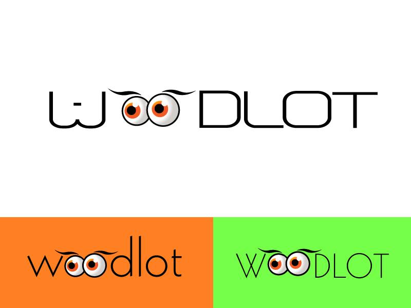 Logo Design by Kishor Patil - Entry No. 59 in the Logo Design Contest Fun Logo Design for woodlot.