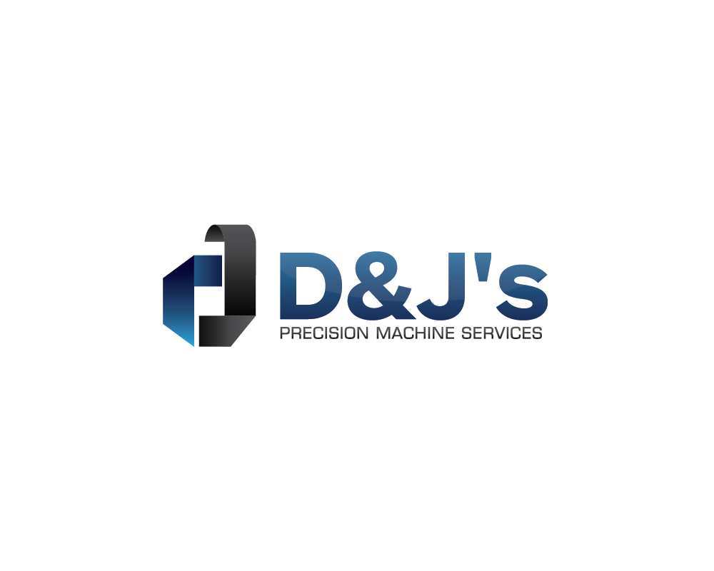 Logo Design by roc - Entry No. 8 in the Logo Design Contest Creative Logo Design for D & J's Precision Machine Services.