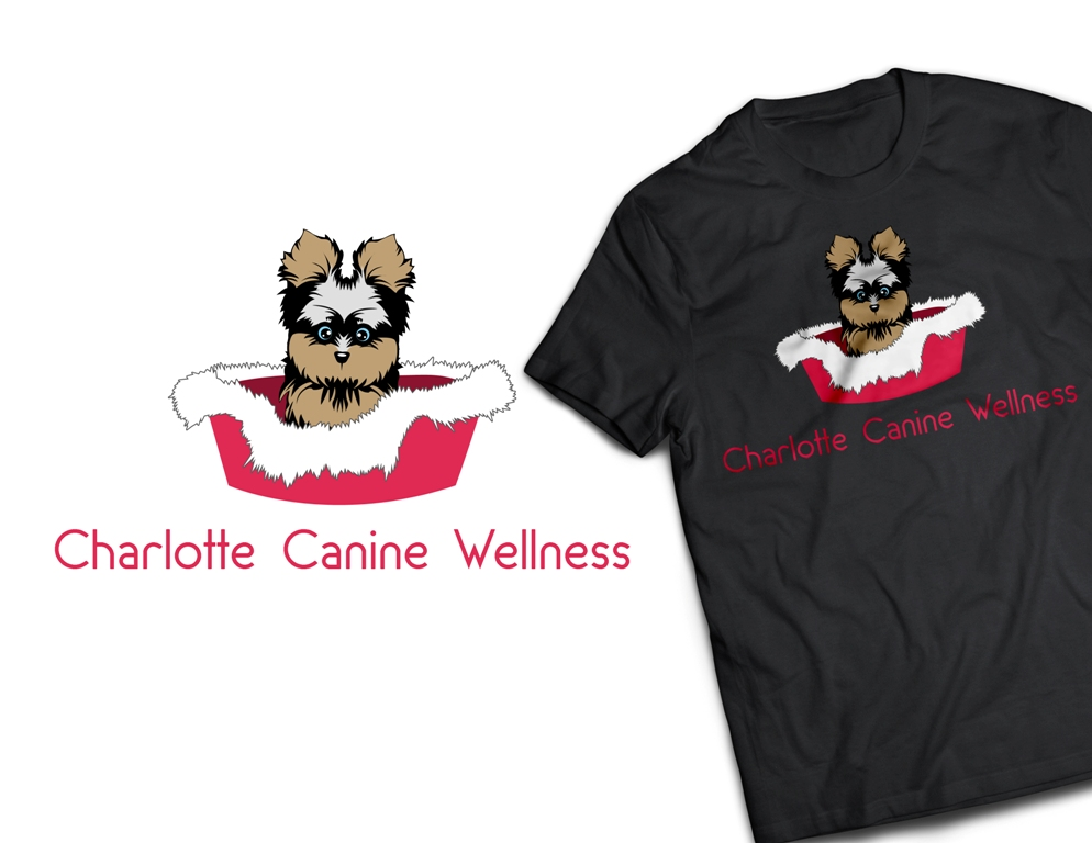 Logo Design by Juan_Kata - Entry No. 57 in the Logo Design Contest New Logo Design for Charlotte Canine Wellness.