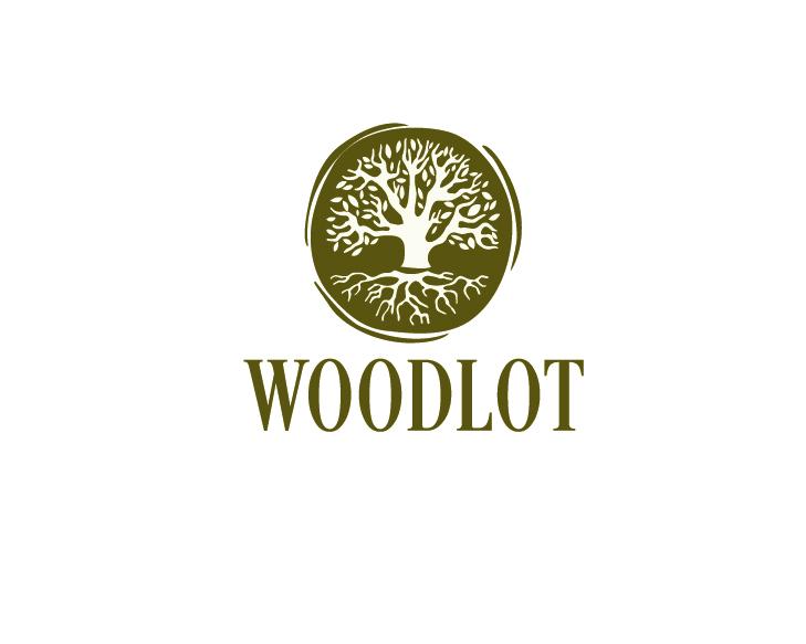 Logo Design by VENTSISLAV KOVACHEV - Entry No. 60 in the Logo Design Contest Fun Logo Design for woodlot.