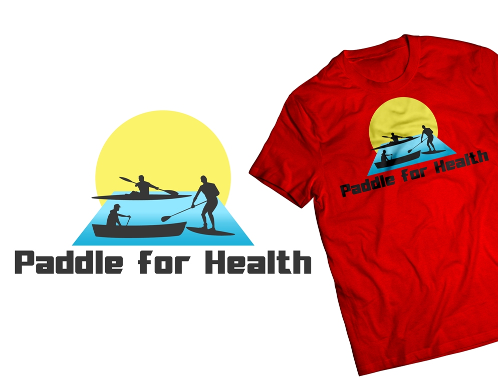 Logo Design by Juan_Kata - Entry No. 34 in the Logo Design Contest Creative Logo Design for Paddle for Health.