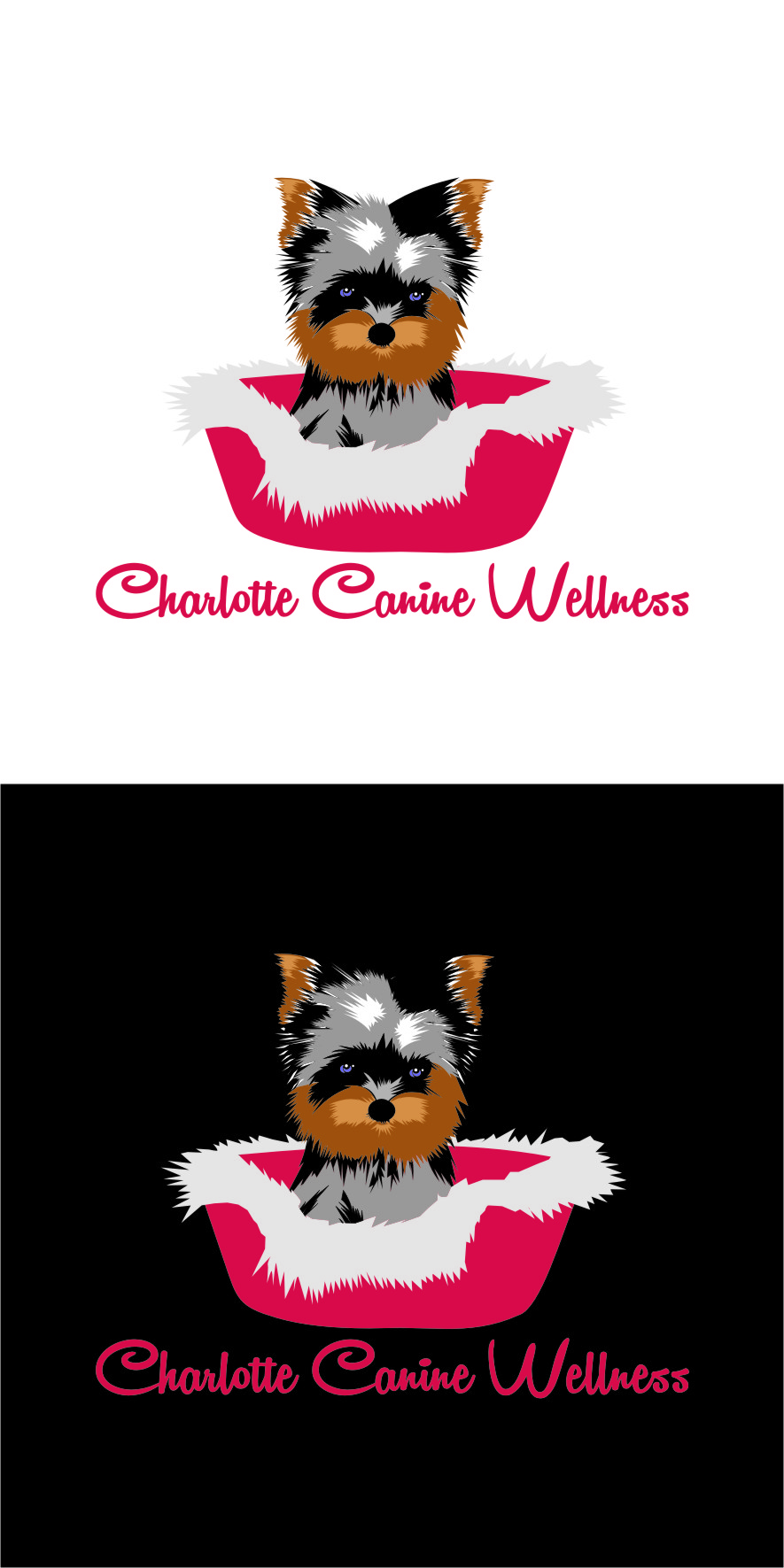 Logo Design by RasYa Muhammad Athaya - Entry No. 62 in the Logo Design Contest New Logo Design for Charlotte Canine Wellness.