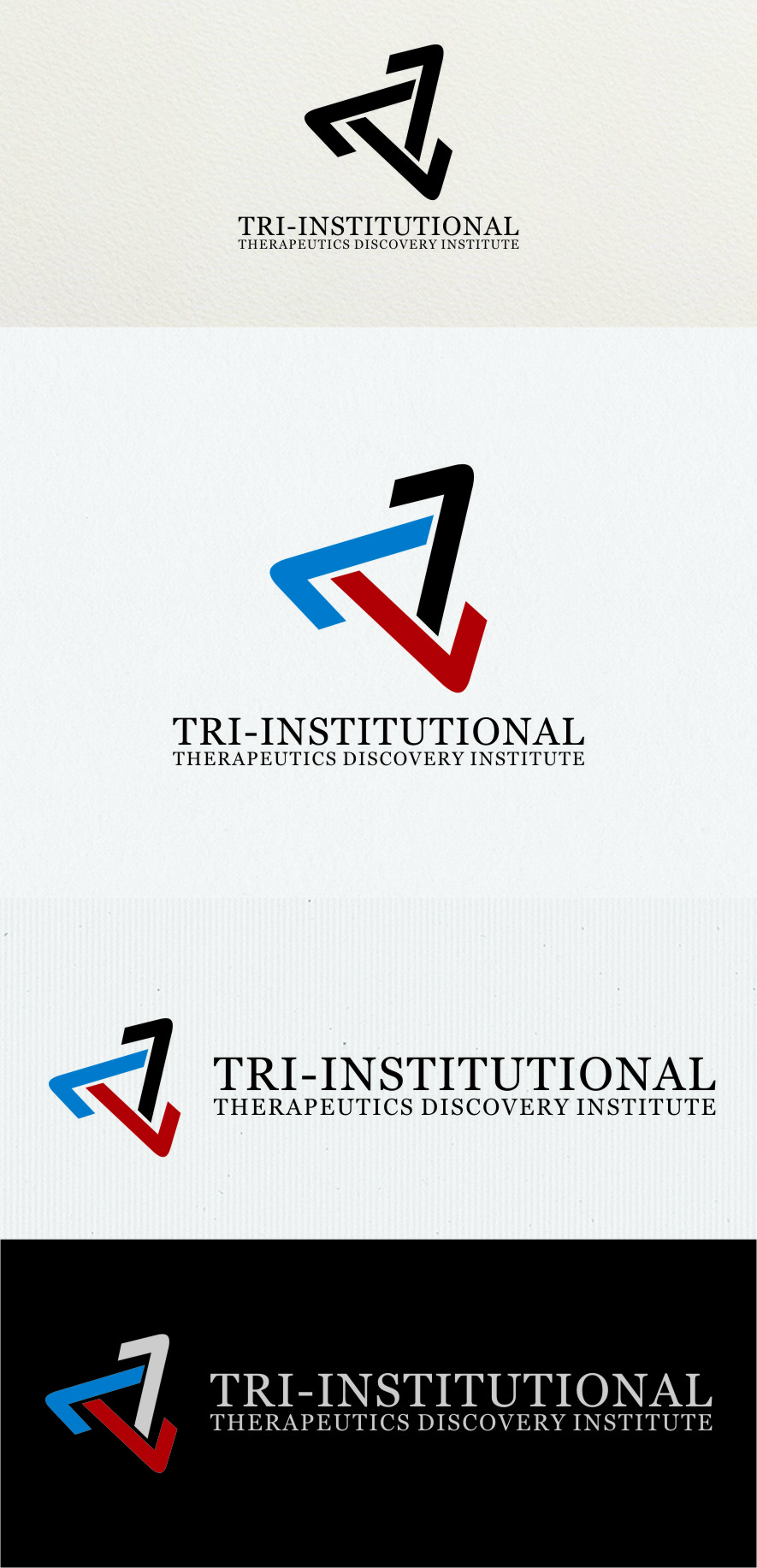 Logo Design by RasYa Muhammad Athaya - Entry No. 212 in the Logo Design Contest Inspiring Logo Design for Tri-Institutional Therapeutics Discovery Institute.