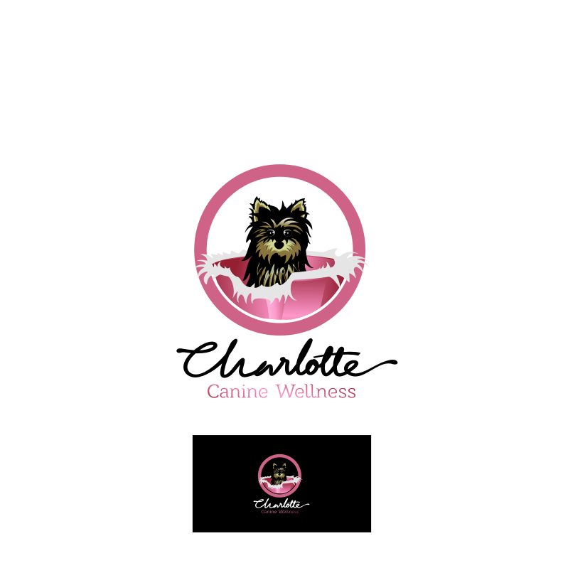 Logo Design by graphicleaf - Entry No. 65 in the Logo Design Contest New Logo Design for Charlotte Canine Wellness.