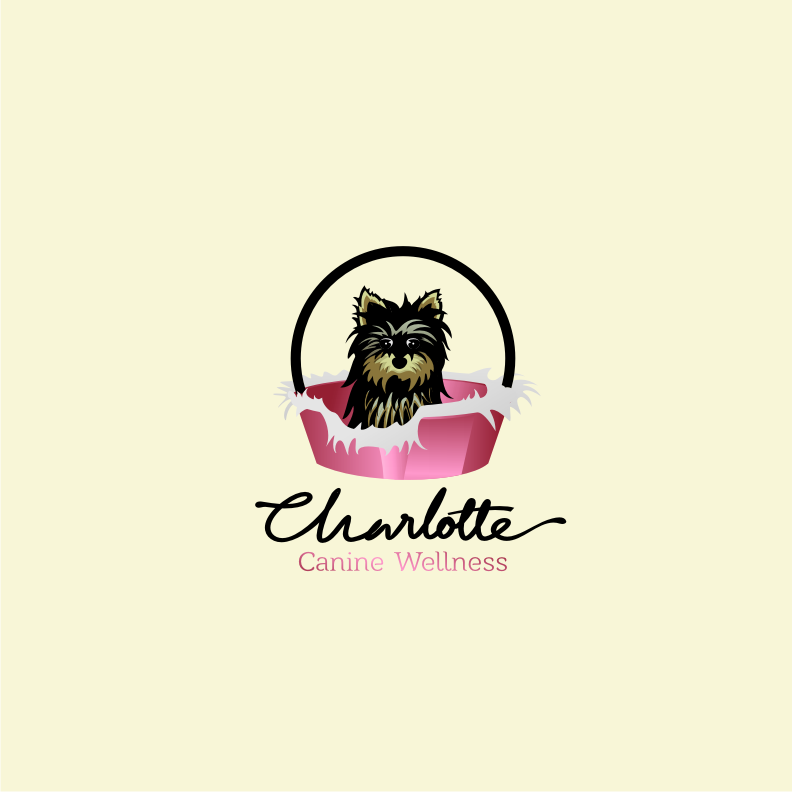 Logo Design by graphicleaf - Entry No. 66 in the Logo Design Contest New Logo Design for Charlotte Canine Wellness.