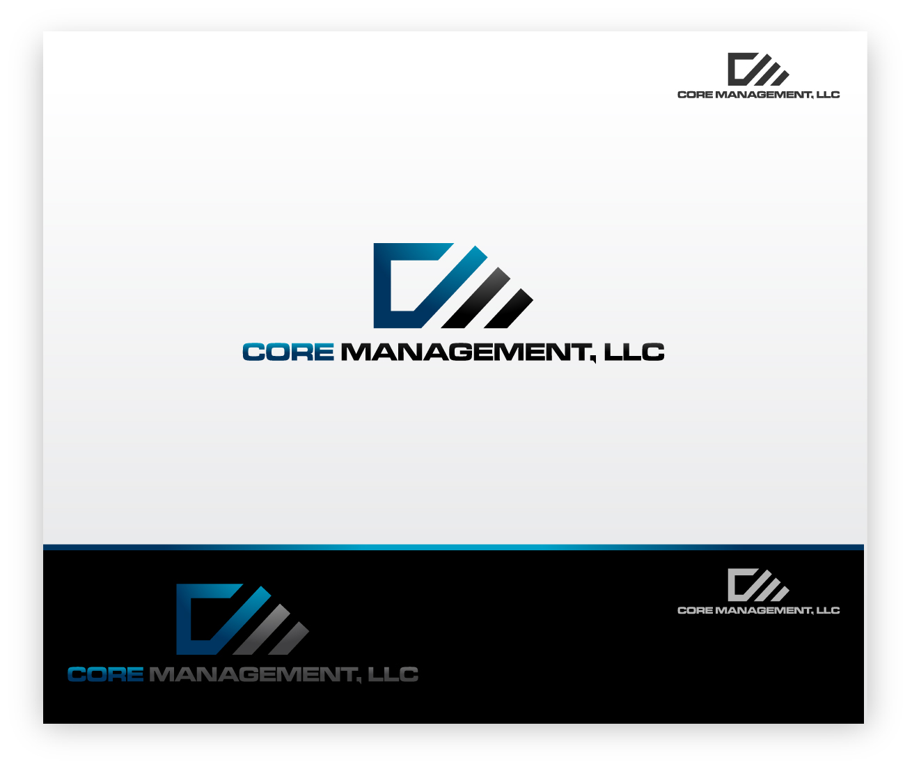 Logo Design by zoiDesign - Entry No. 4 in the Logo Design Contest Creative Logo Design for CORE Management, LLC.