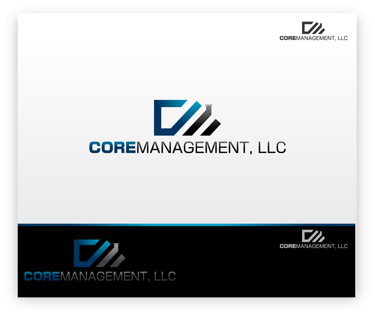 Logo Design by zoiDesign - Entry No. 5 in the Logo Design Contest Creative Logo Design for CORE Management, LLC.