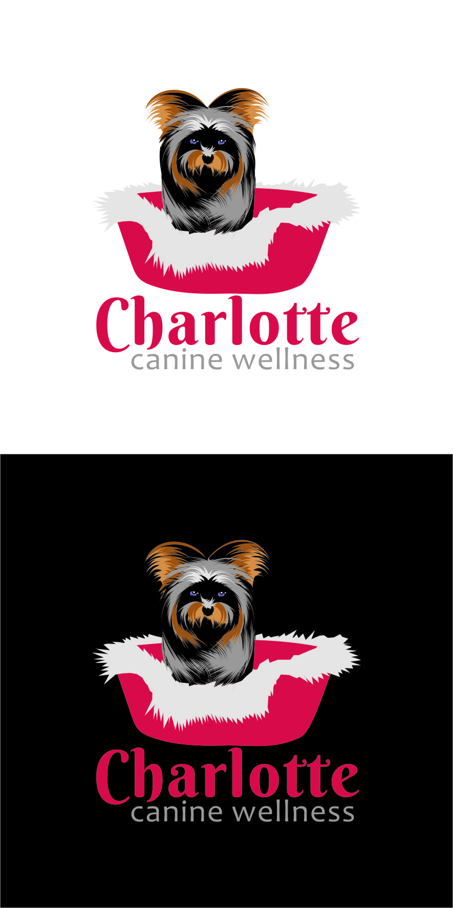 Logo Design by RasYa Muhammad Athaya - Entry No. 69 in the Logo Design Contest New Logo Design for Charlotte Canine Wellness.