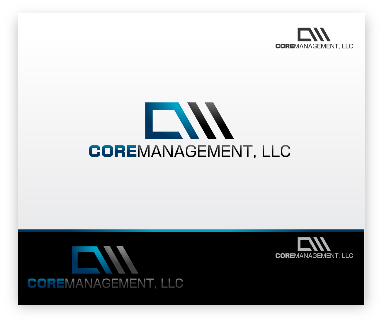 Logo Design by zoiDesign - Entry No. 6 in the Logo Design Contest Creative Logo Design for CORE Management, LLC.