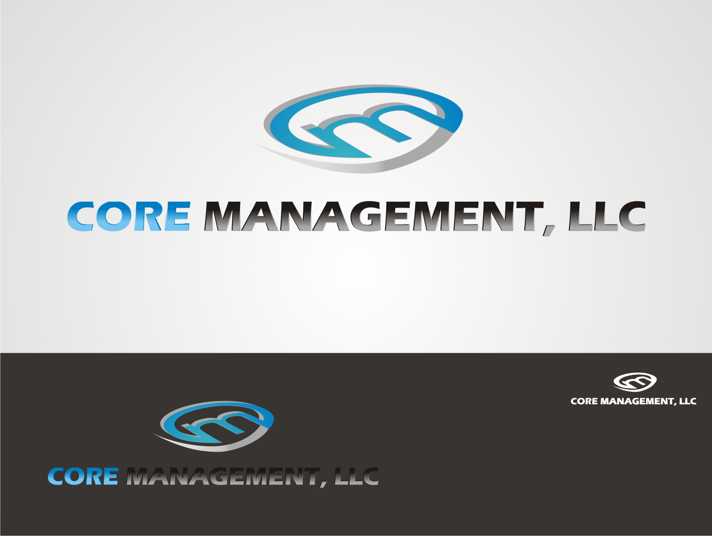 Logo Design by Nthus Nthis - Entry No. 7 in the Logo Design Contest Creative Logo Design for CORE Management, LLC.