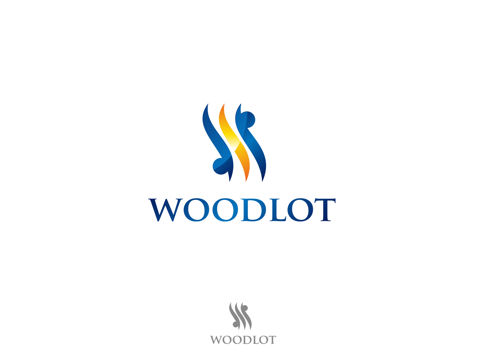 Logo Design by Alex Chandra - Entry No. 67 in the Logo Design Contest Fun Logo Design for woodlot.