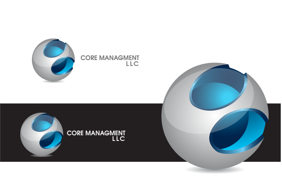 Logo Design by Private User - Entry No. 9 in the Logo Design Contest Creative Logo Design for CORE Management, LLC.