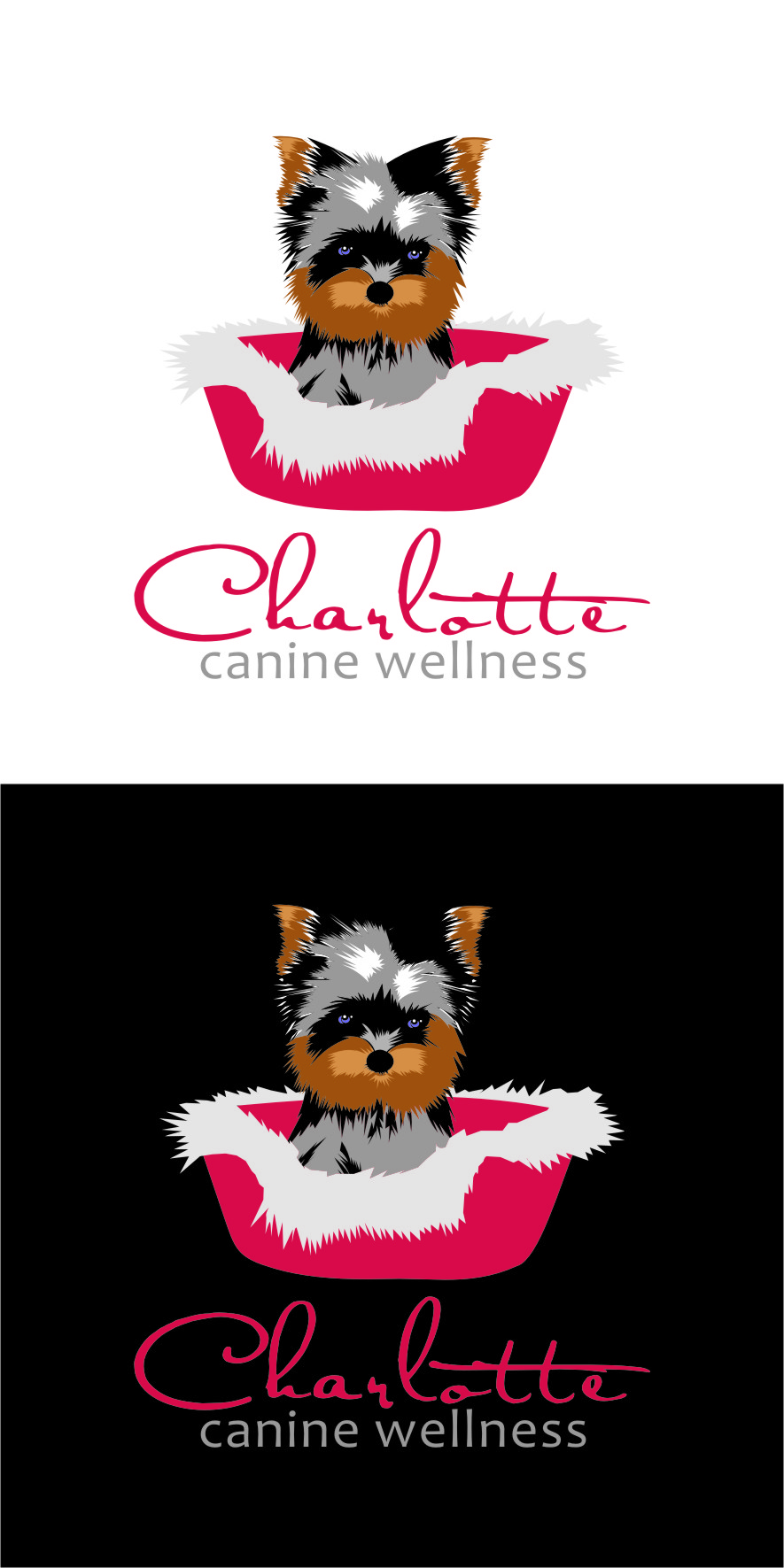 Logo Design by RasYa Muhammad Athaya - Entry No. 76 in the Logo Design Contest New Logo Design for Charlotte Canine Wellness.
