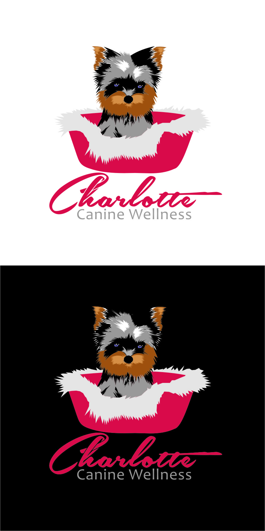 Logo Design by Ngepet_art - Entry No. 78 in the Logo Design Contest New Logo Design for Charlotte Canine Wellness.
