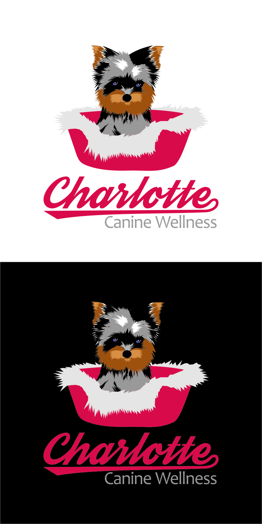 Logo Design by Ngepet_art - Entry No. 79 in the Logo Design Contest New Logo Design for Charlotte Canine Wellness.