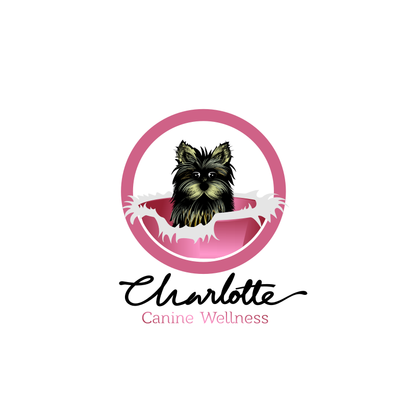 Logo Design by graphicleaf - Entry No. 82 in the Logo Design Contest New Logo Design for Charlotte Canine Wellness.