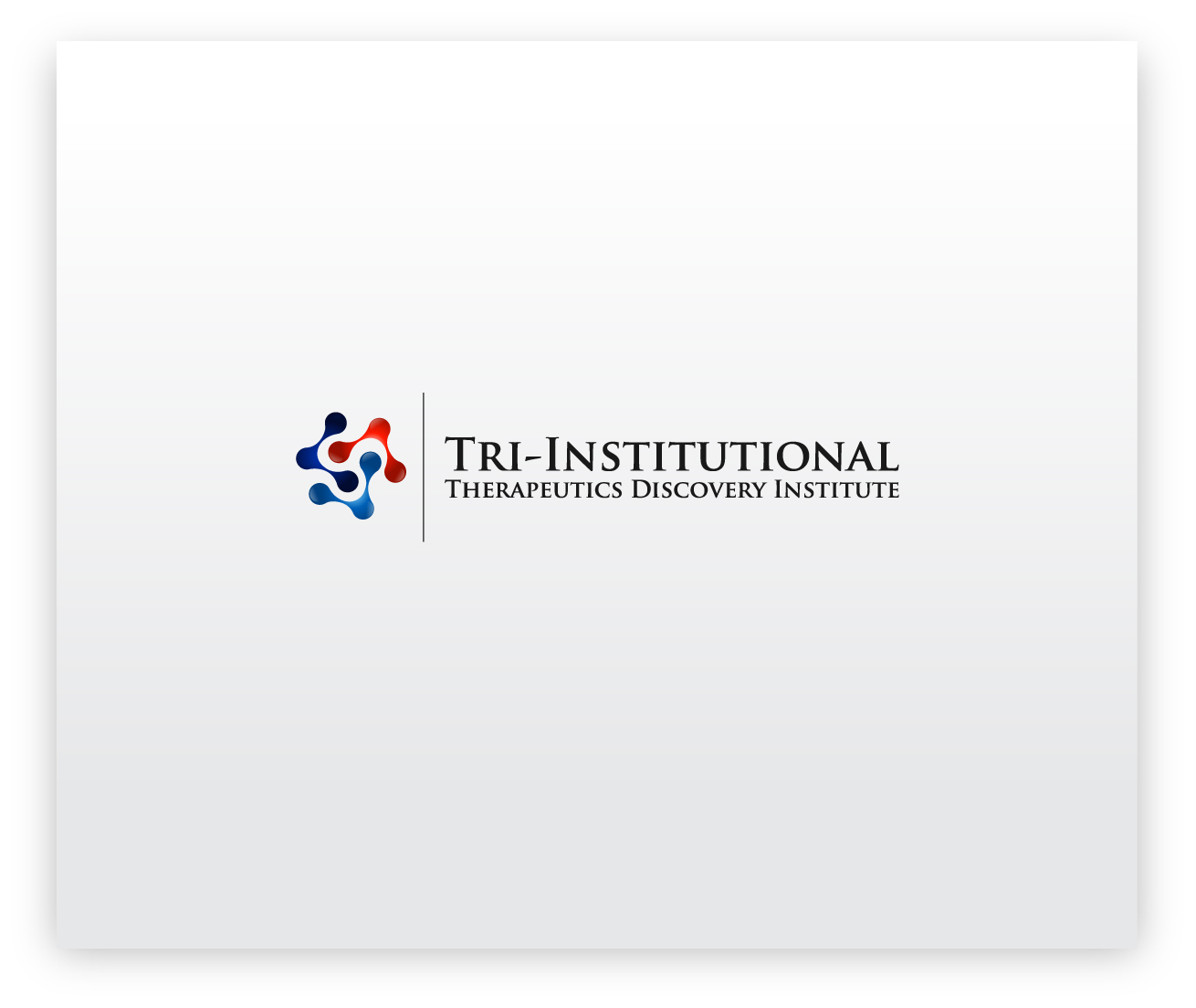 Logo Design by zoiDesign - Entry No. 222 in the Logo Design Contest Inspiring Logo Design for Tri-Institutional Therapeutics Discovery Institute.