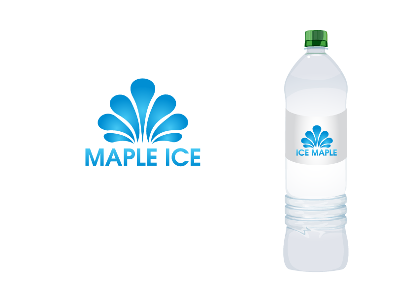 Packaging Design by Private User - Entry No. 19 in the Packaging Design Contest Unique Label/Packaging Design Wanted for Premium Bottled Water (Maple Ice).