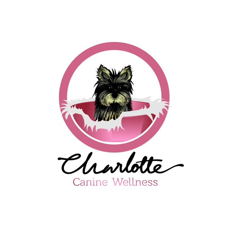 Logo Design by graphicleaf - Entry No. 83 in the Logo Design Contest New Logo Design for Charlotte Canine Wellness.