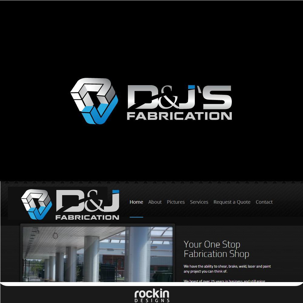 Logo Design by rockin - Entry No. 24 in the Logo Design Contest Creative Logo Design for D & J's Precision Machine Services.