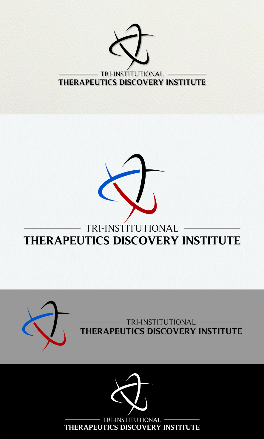Logo Design by RasYa Muhammad Athaya - Entry No. 230 in the Logo Design Contest Inspiring Logo Design for Tri-Institutional Therapeutics Discovery Institute.