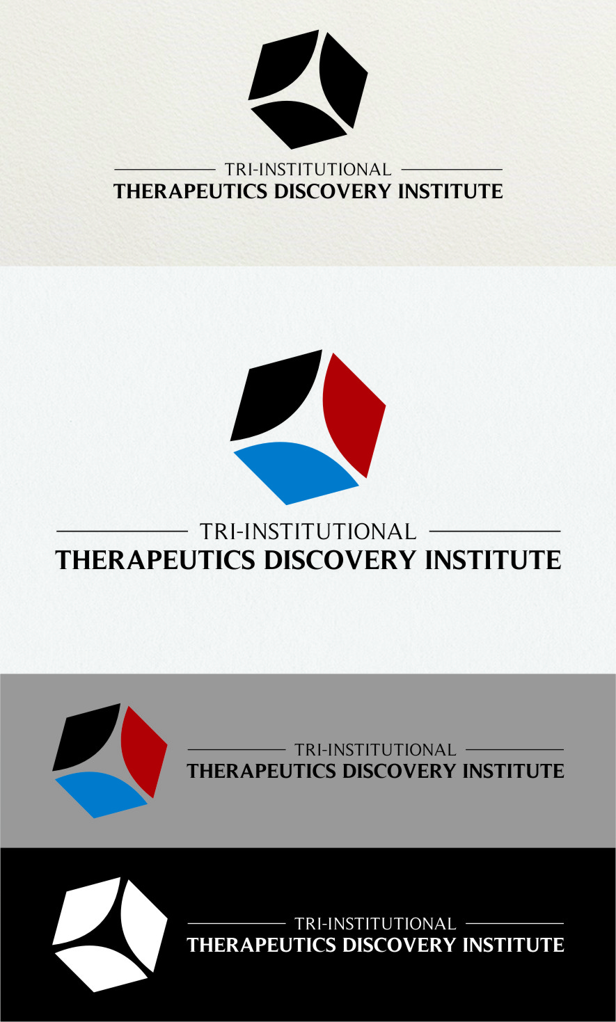 Logo Design by Ngepet_art - Entry No. 231 in the Logo Design Contest Inspiring Logo Design for Tri-Institutional Therapeutics Discovery Institute.
