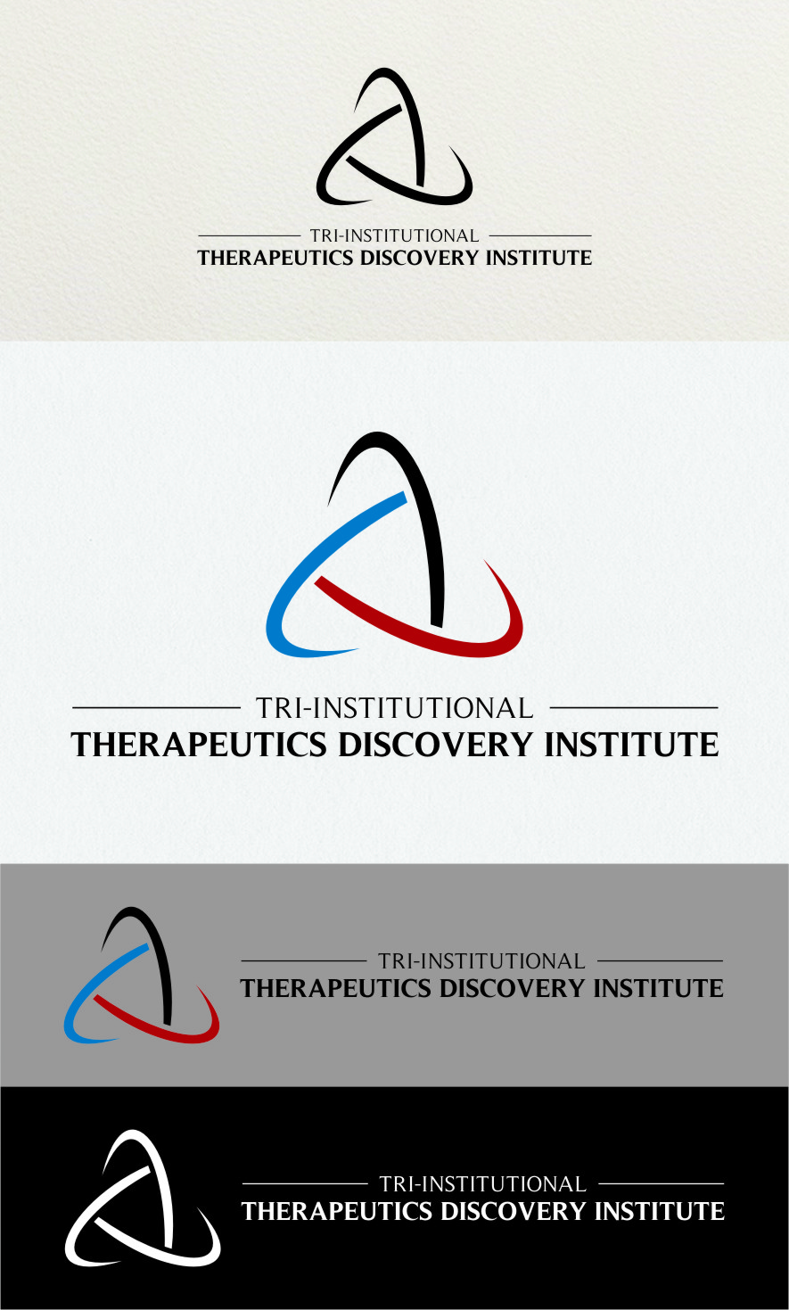 Logo Design by Ngepet_art - Entry No. 232 in the Logo Design Contest Inspiring Logo Design for Tri-Institutional Therapeutics Discovery Institute.