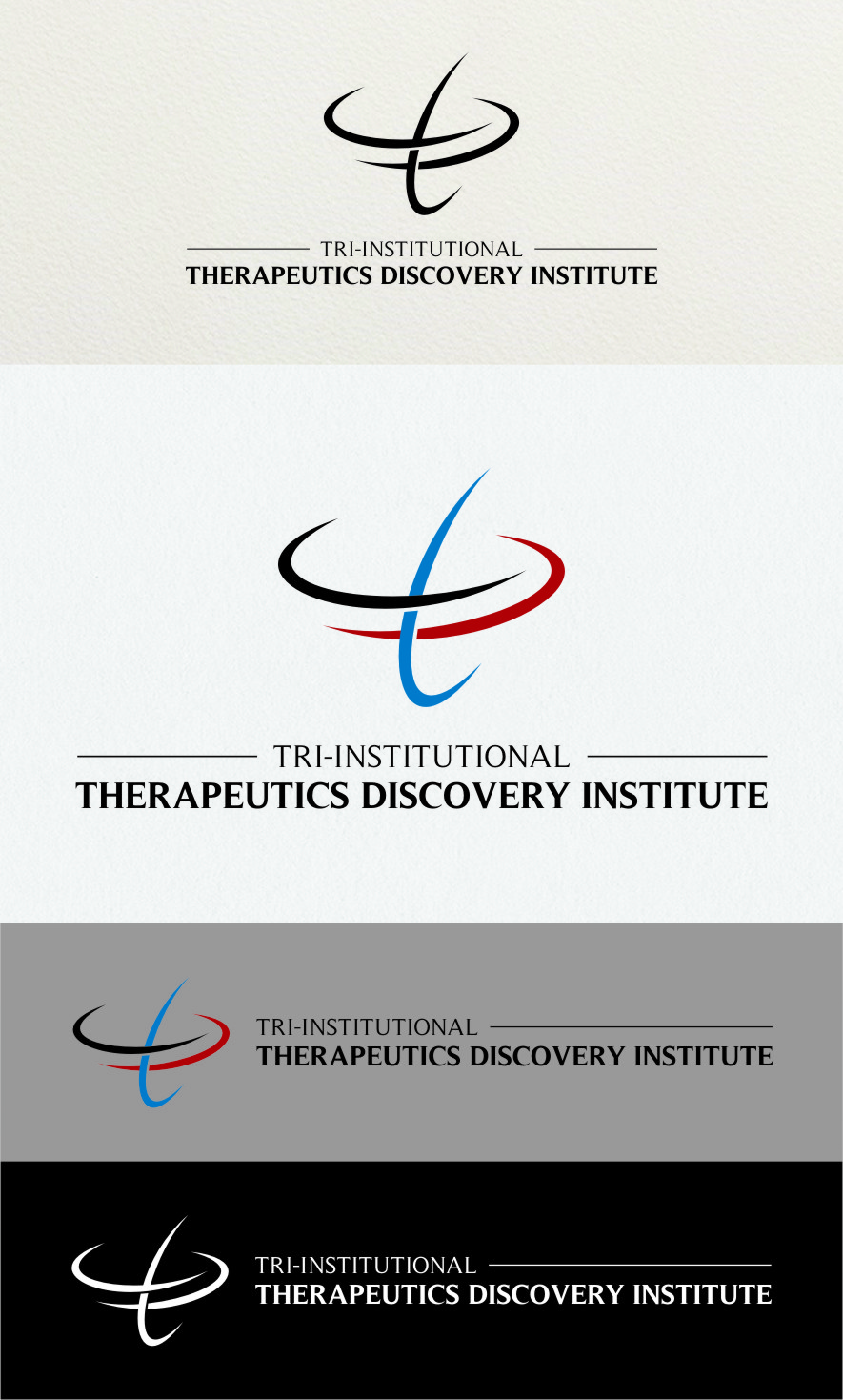 Logo Design by Ngepet_art - Entry No. 234 in the Logo Design Contest Inspiring Logo Design for Tri-Institutional Therapeutics Discovery Institute.