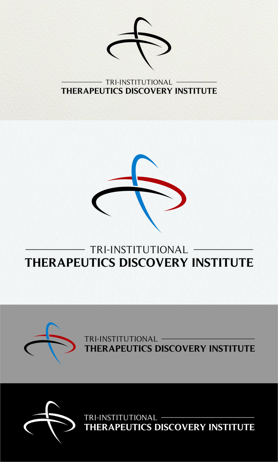 Logo Design by RasYa Muhammad Athaya - Entry No. 235 in the Logo Design Contest Inspiring Logo Design for Tri-Institutional Therapeutics Discovery Institute.