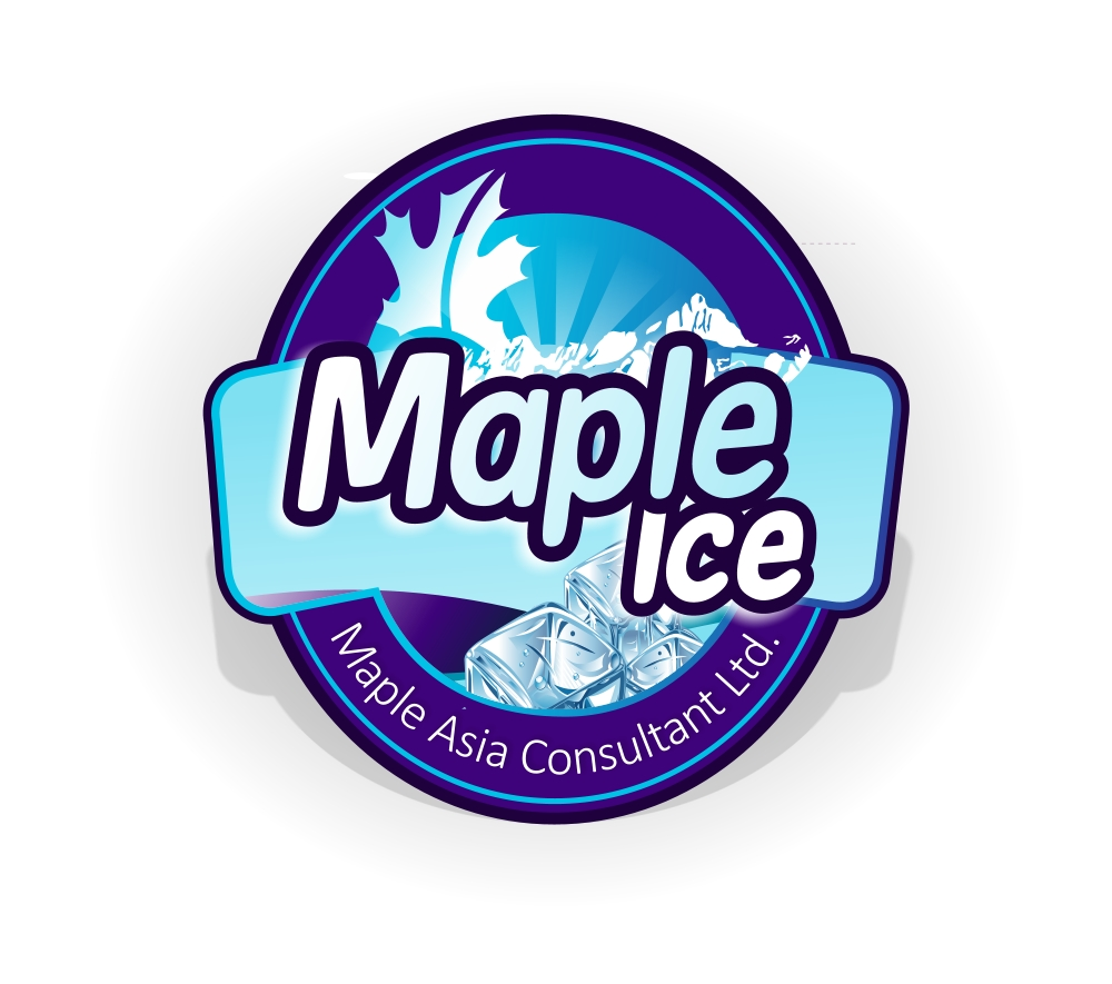 Packaging Design by Private User - Entry No. 20 in the Packaging Design Contest Unique Label/Packaging Design Wanted for Premium Bottled Water (Maple Ice).