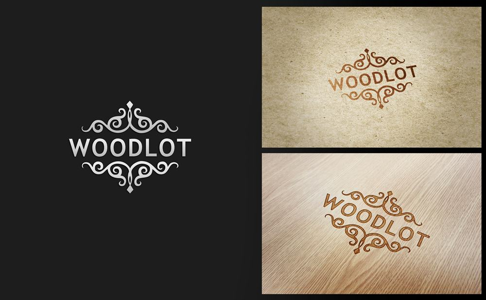 Logo Design by Respati Himawan - Entry No. 68 in the Logo Design Contest Fun Logo Design for woodlot.
