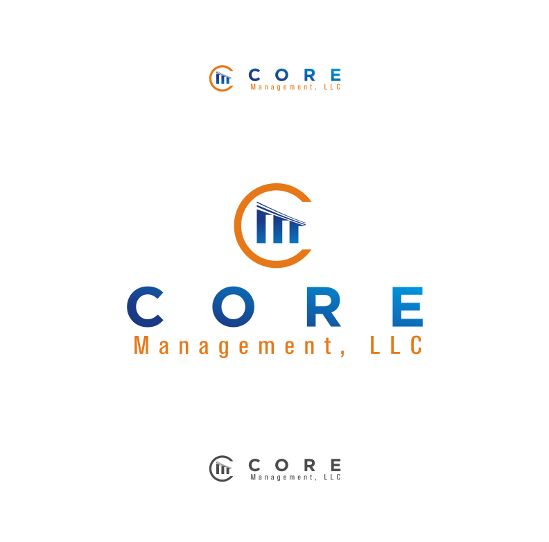 Logo Design by graphicleaf - Entry No. 22 in the Logo Design Contest Creative Logo Design for CORE Management, LLC.