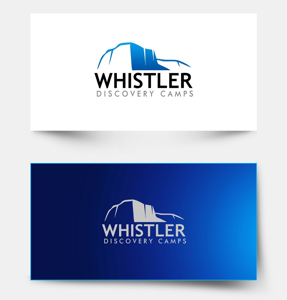 Logo Design by Respati Himawan - Entry No. 21 in the Logo Design Contest Captivating Logo Design for Whistler Discovery Camps.