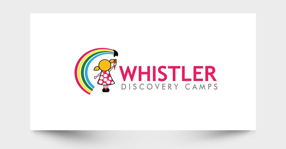Logo Design by Respati Himawan - Entry No. 22 in the Logo Design Contest Captivating Logo Design for Whistler Discovery Camps.