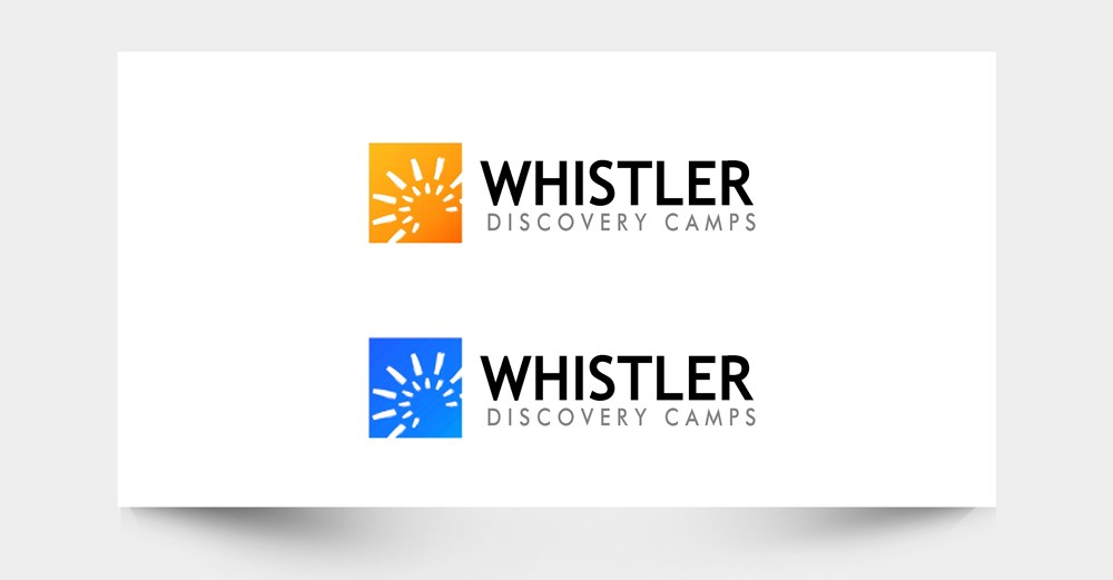 Logo Design by Respati Himawan - Entry No. 23 in the Logo Design Contest Captivating Logo Design for Whistler Discovery Camps.