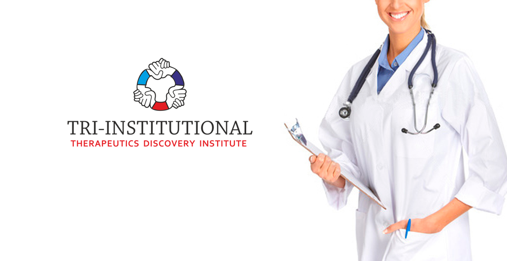 Logo Design by Galina Spirina - Entry No. 246 in the Logo Design Contest Inspiring Logo Design for Tri-Institutional Therapeutics Discovery Institute.